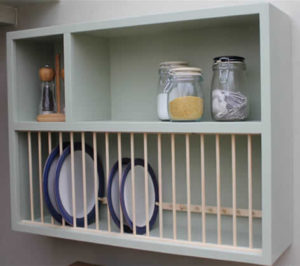 A Plate Rack Has The Advantage Of Both Looking Good Providing Feature But Also Make Accessing Your Plates And Crockery Lot Easier No More Routing