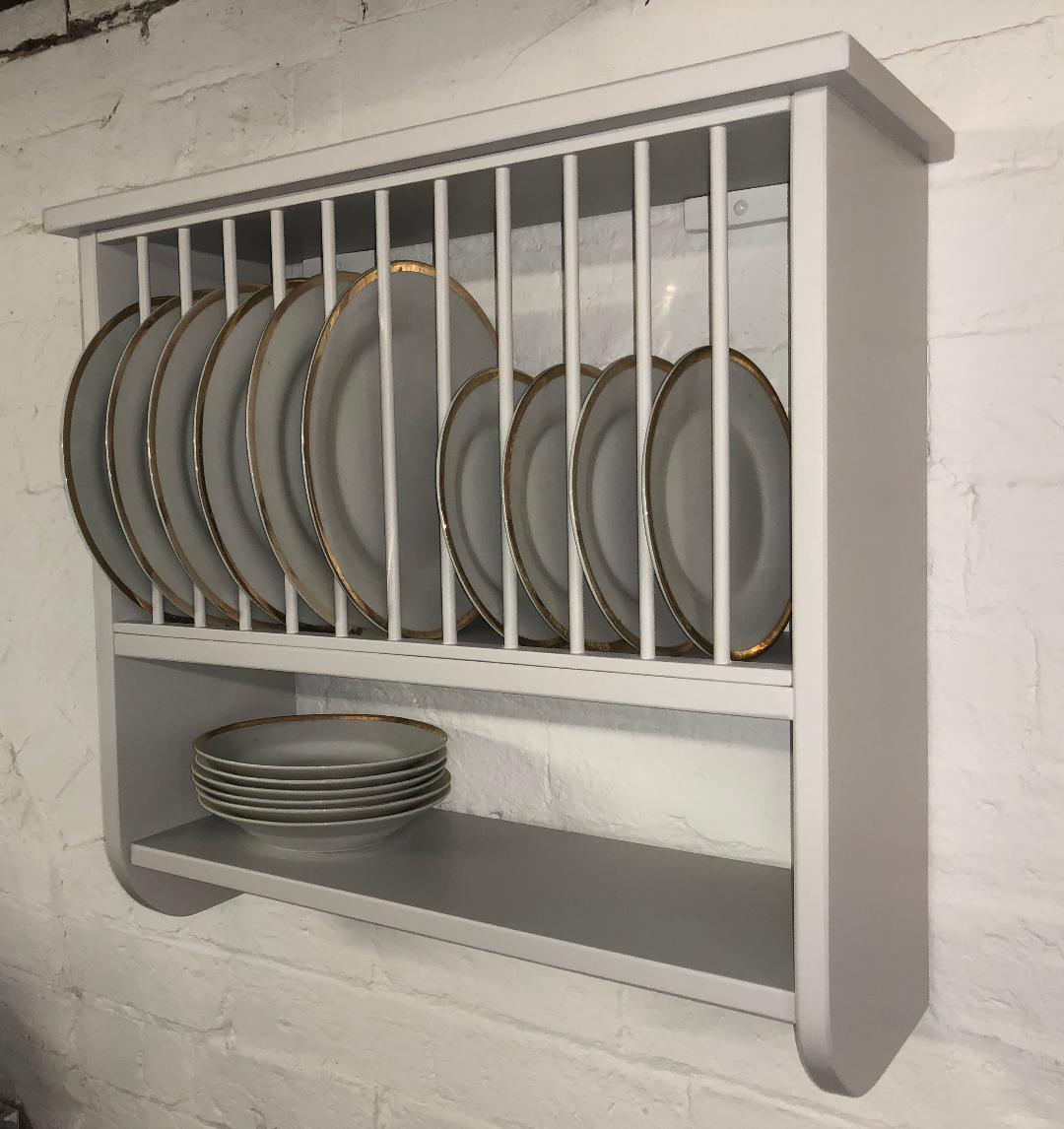the plate rack co ltd burford rack a wall mounted plate rack. Black Bedroom Furniture Sets. Home Design Ideas